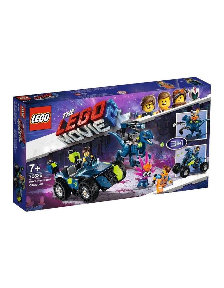 LEGO Movie 2 Rex's Rex-treme Offroader! 70826 image 1