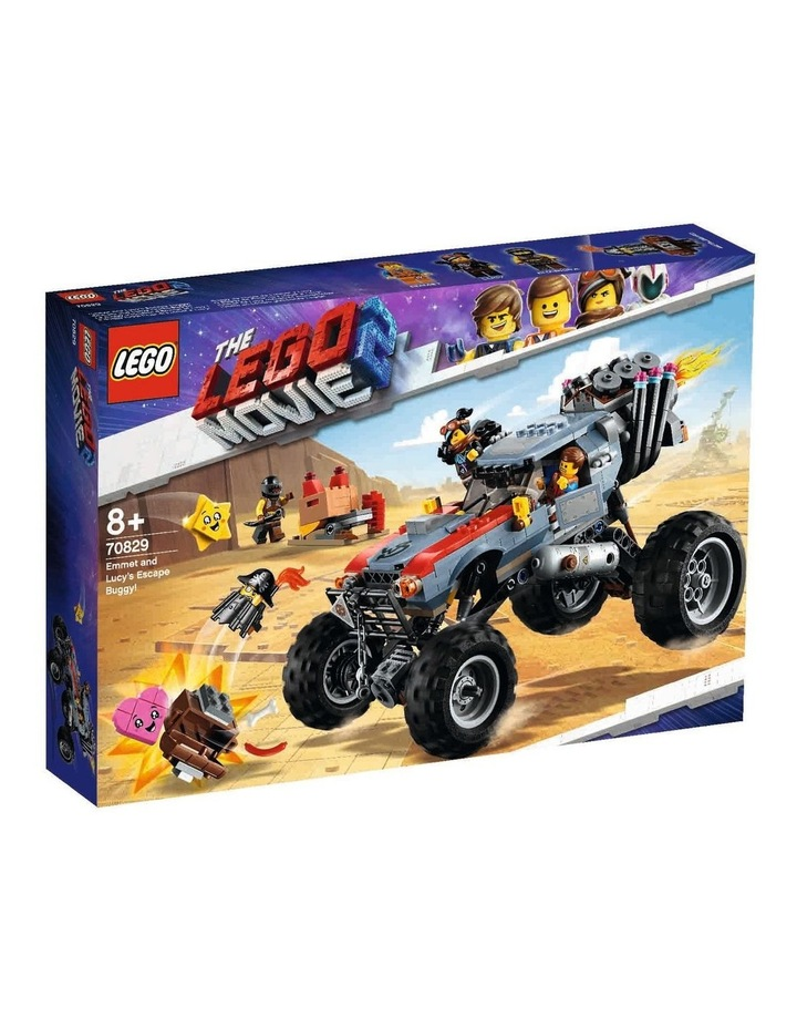 LEGO Movie 2 Emmet and Lucy's Escape Buggy! 70829 image 1