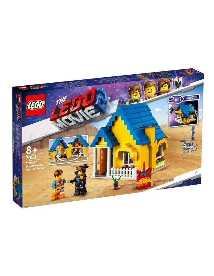 LEGO Movie 2 Emmet's Dream House/Rescue Rocket! 70831 image 1
