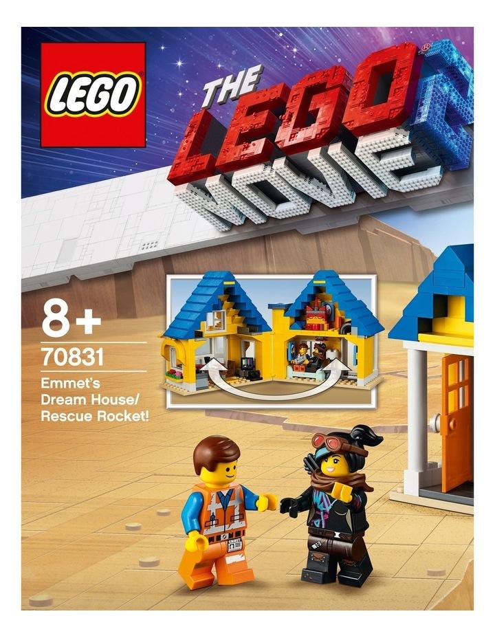 LEGO Movie 2 Emmet's Dream House/Rescue Rocket! 70831 image 2