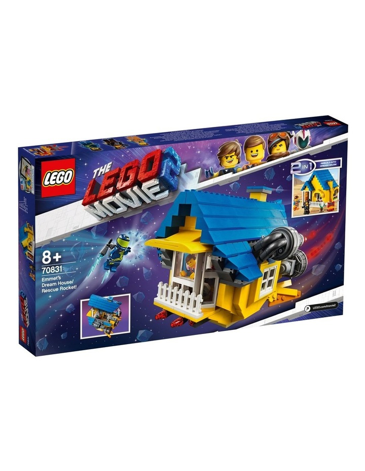 LEGO Movie 2 Emmet's Dream House/Rescue Rocket! 70831 image 3