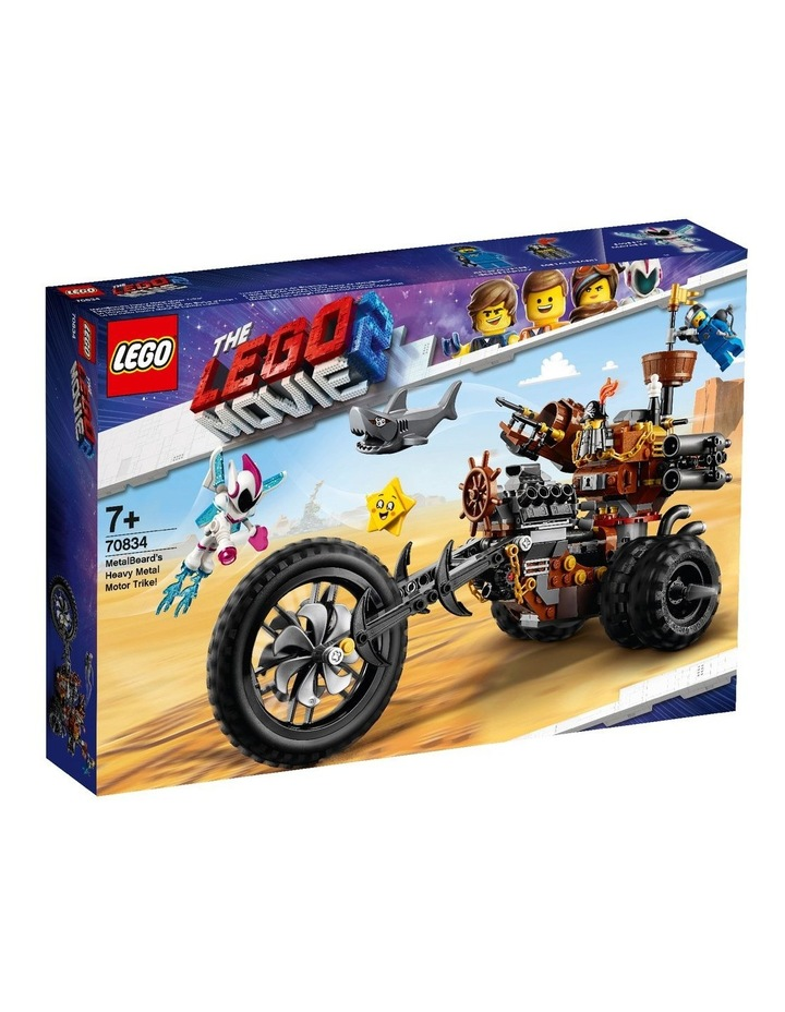LEGO Movie 2 MetalBeard's Heavy Metal Motor Trike! 70834 image 1