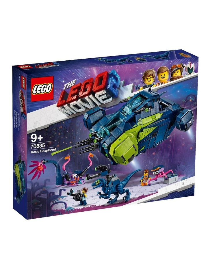 LEGO Movie 2 Rex's Rexplorer! 70835 image 1