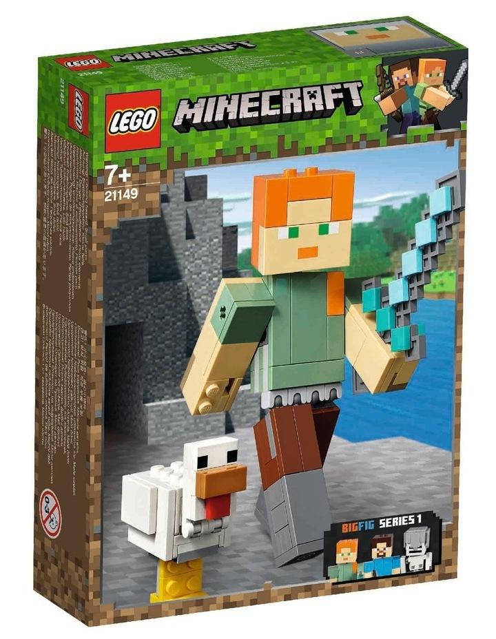 Minecraft Alex BigFig with Chicken 21149 image 1
