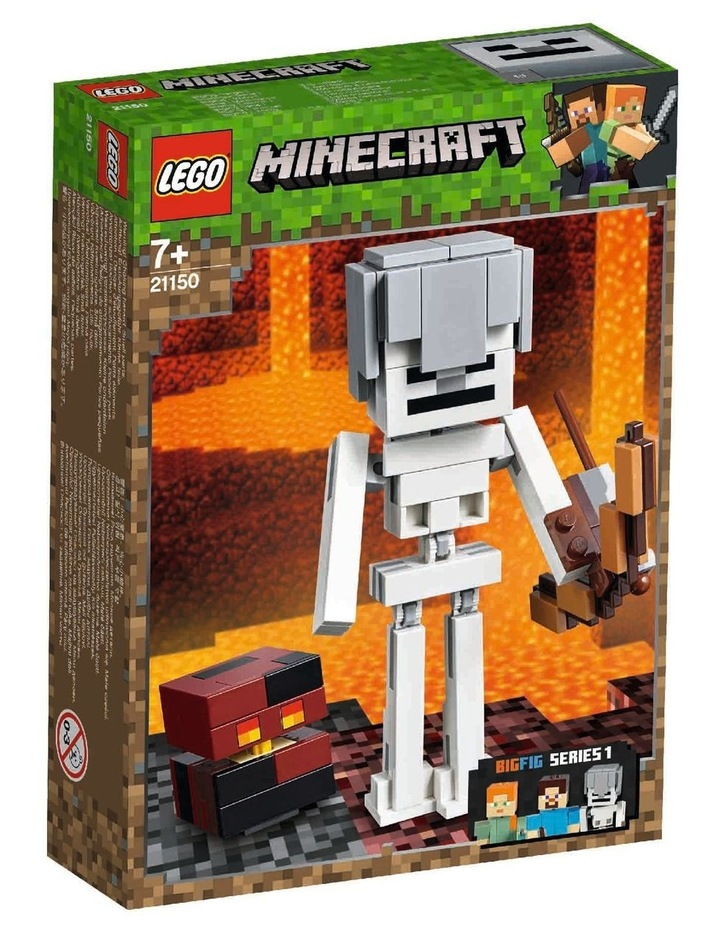 Minecraft Skeleton BigFig with Magma Cu 21150 image 1