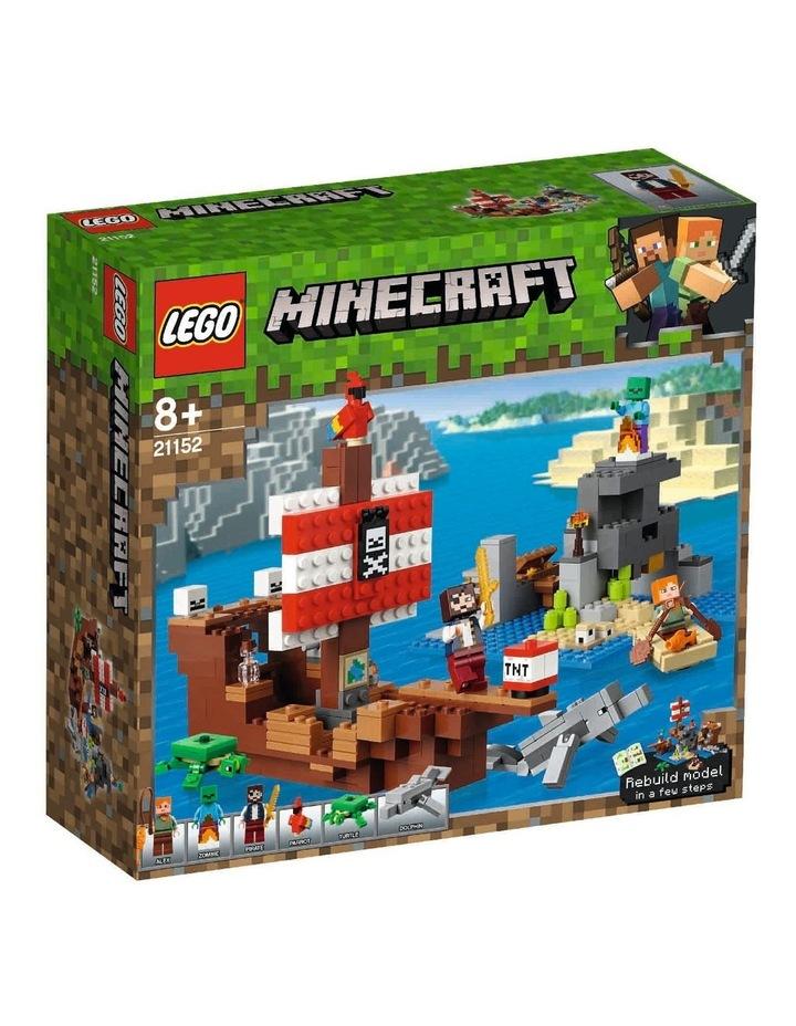 Minecraft The Pirate Ship Adventure 21152 image 1