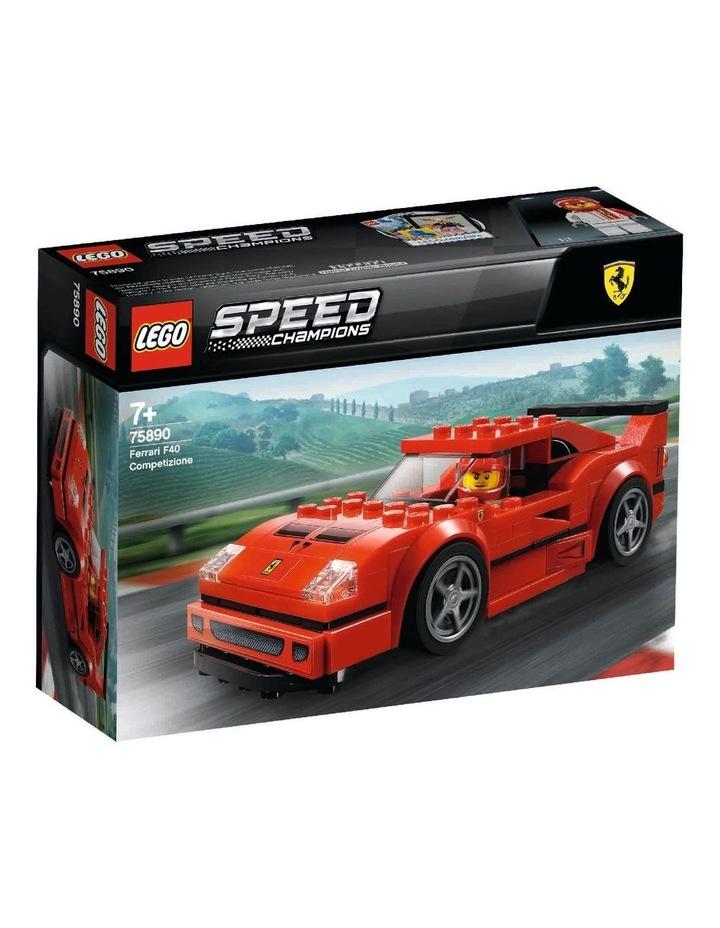 Speed Champions Ferrari F40 Competizione 75890 image 1