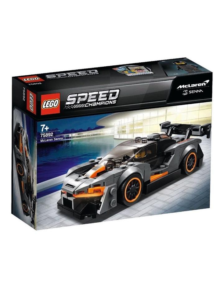 Speed Champions McLaren Senna 75892 image 1