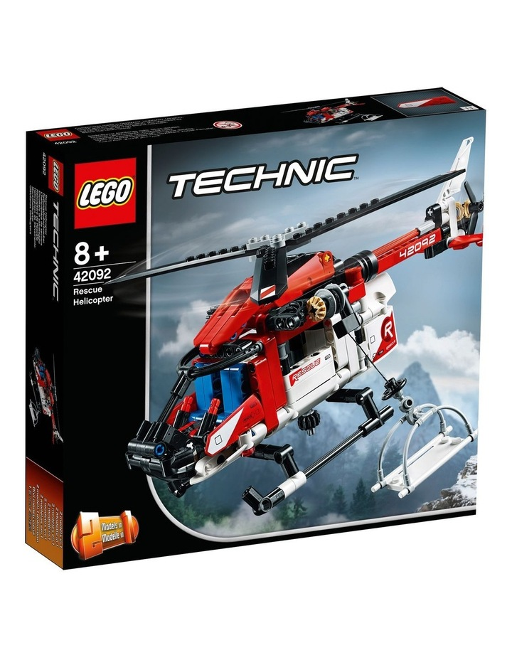 Technic Rescue Helicopter 42092 image 1