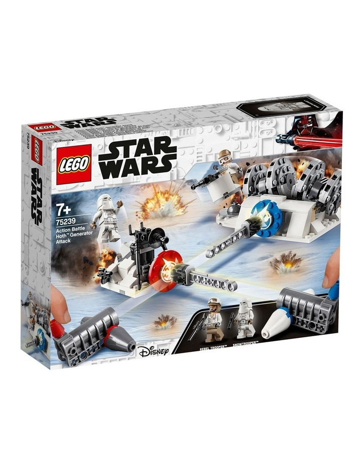 Star Wars Action Battle Hoth Generator Attack 75239 image 1