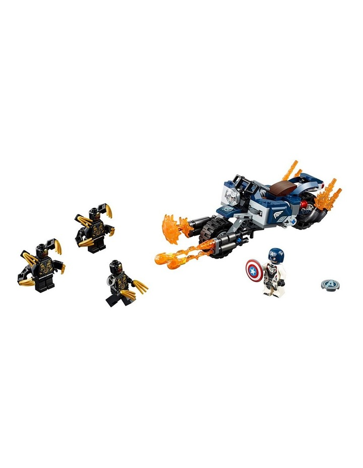 Super Heroes Captain America's Outrider's Attack 76123 image 3