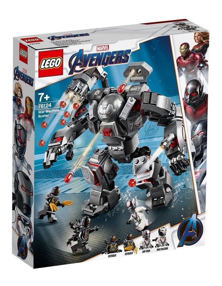 Super Heroes Avengers War Machine Buster 76124 image 1