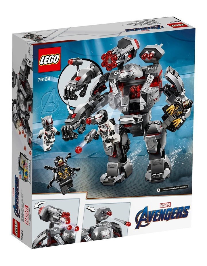 Super Heroes Avengers War Machine Buster 76124 image 2