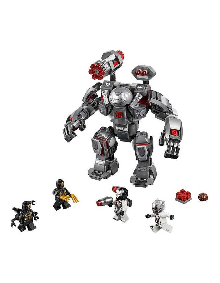 Super Heroes Avengers War Machine Buster 76124 image 3