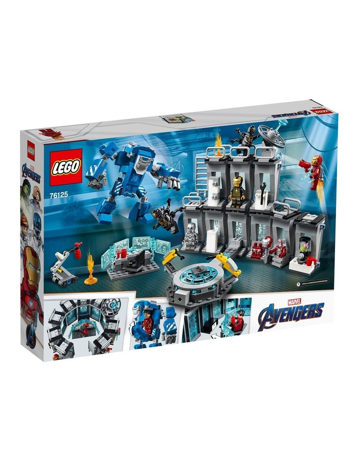 Super Heroes Iron Man Hall Of Armor 76125 image 2