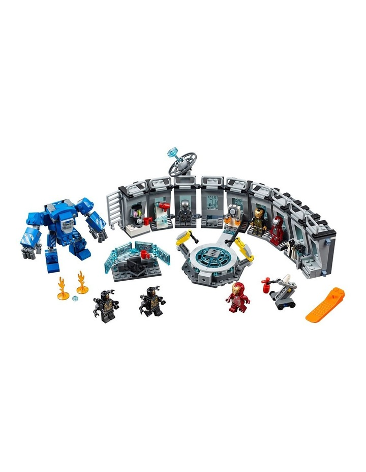 Super Heroes Iron Man Hall Of Armor 76125 image 3