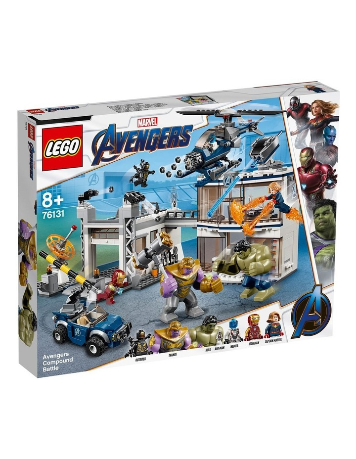 Super Heroes Avengers Compound Battle 76131 image 1