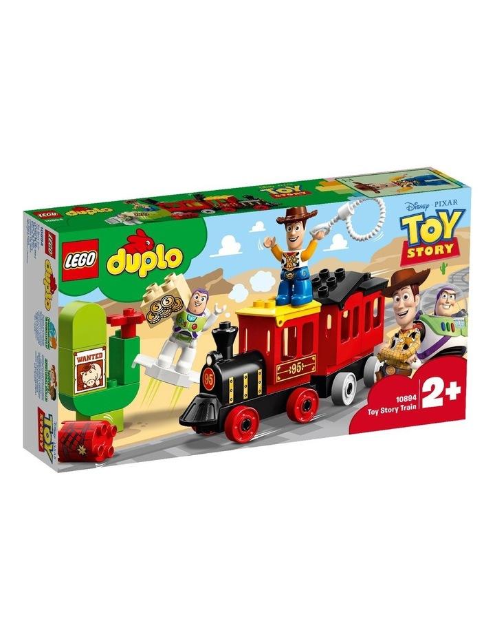 LEGO DUPLO Disney Pixar Toy Story Train 10894 Building Blocks image 1