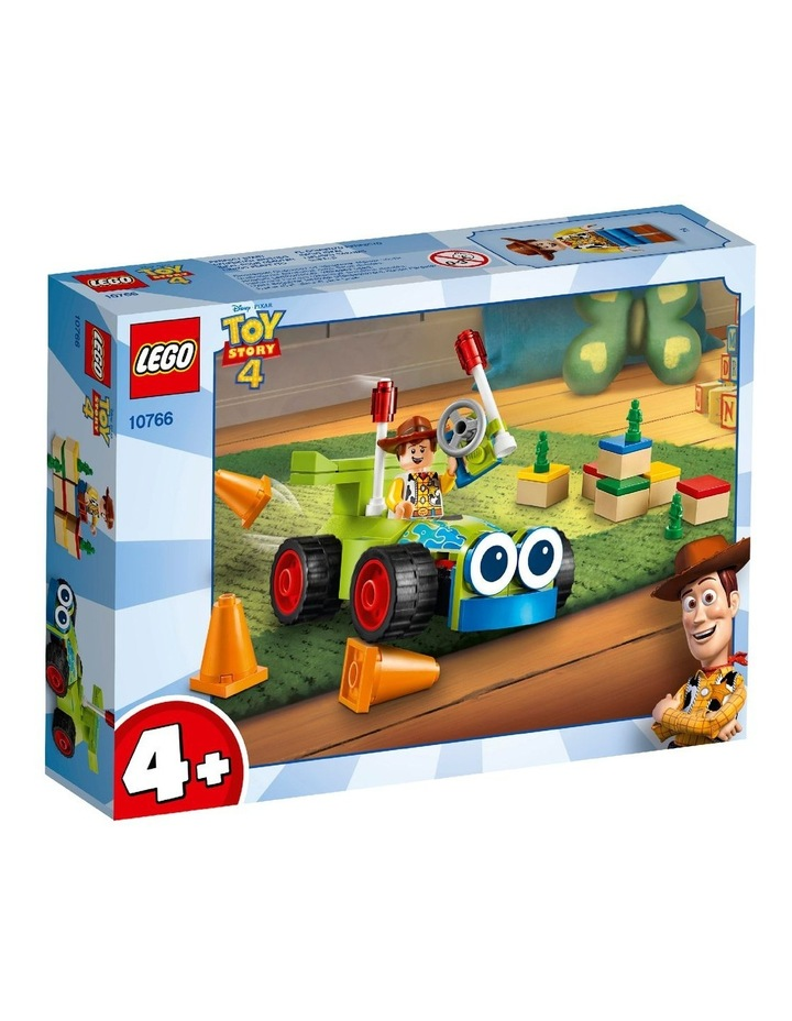 4+ Disney Pixar's Toy Story 4 Woody & RC 10766 Building Kit image 1