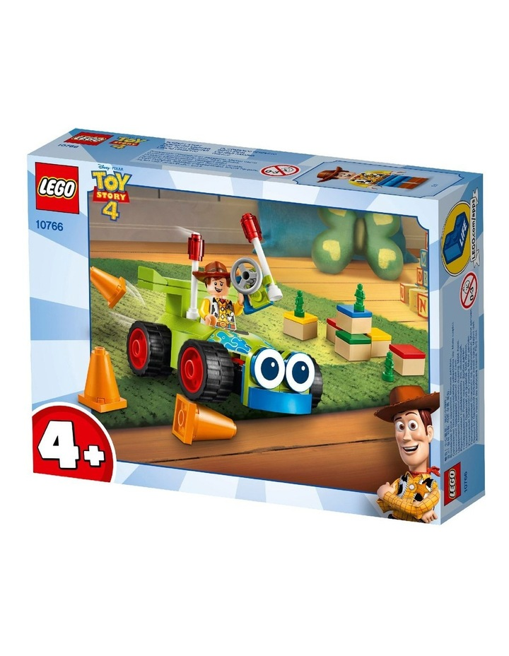 4+ Disney Pixar's Toy Story 4 Woody & RC 10766 Building Kit image 2