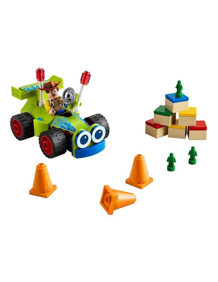 4+ Disney Pixar's Toy Story 4 Woody & RC 10766 Building Kit image 4