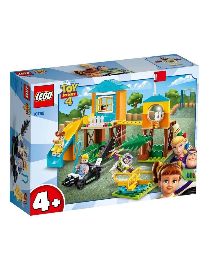 4+ Disney Pixar's Toy Story 4 Buzz & Bo-Peeps Playground Adventure 10768 Building Kit image 1