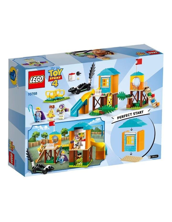 4+ Disney Pixar's Toy Story 4 Buzz & Bo-Peeps Playground Adventure 10768 Building Kit image 3