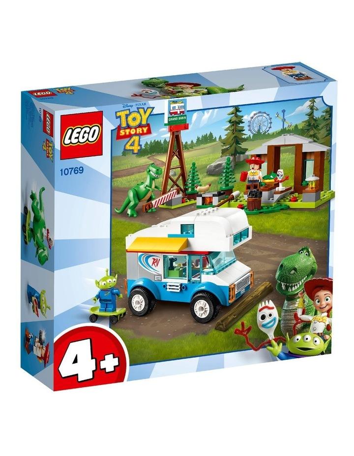 4+ Disney Pixar's Toy Story 4 RV Vacation 10769 Building Kit image 1
