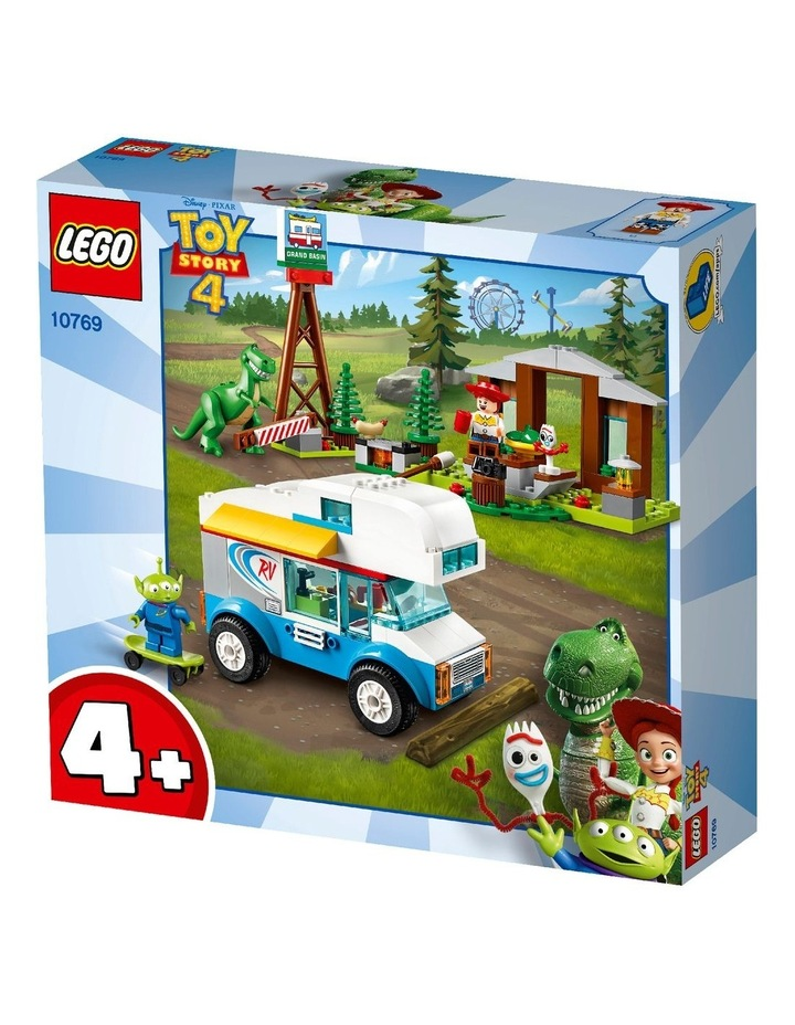 4+ Disney Pixar's Toy Story 4 RV Vacation 10769 Building Kit image 2