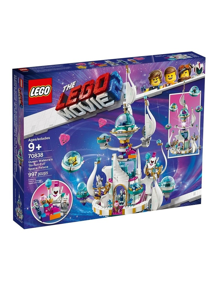 LEGO Movie 2 Queen Watevra's So-Not-Evil' Space Palace 70838 image 1