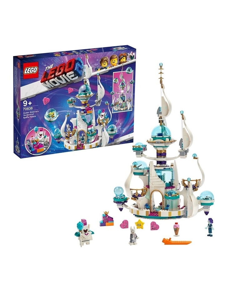 LEGO Movie 2 Queen Watevra's So-Not-Evil' Space Palace 70838 image 3