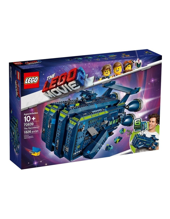 LEGO Movie 2 The Rexcelsior! 70839 image 1