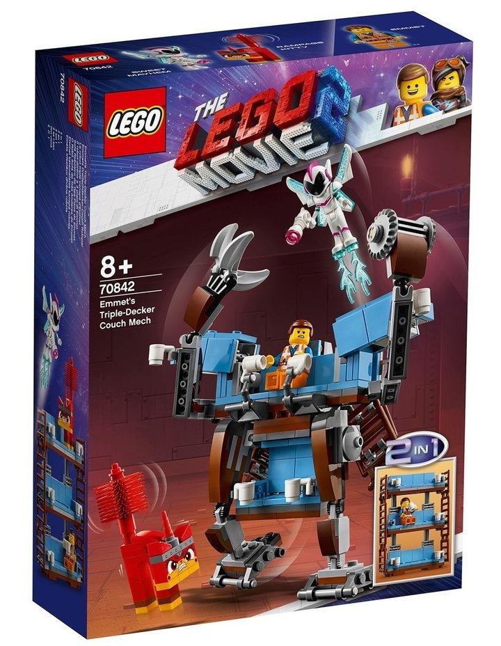 LEGO Movie 2 Emmet's Triple-Decker Couch Mech 70842 image 1