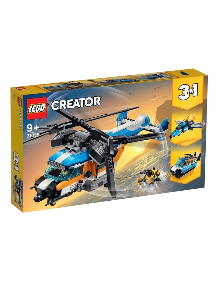 Creator 3in1 Twin Rotor Helicopter 31096 image 1