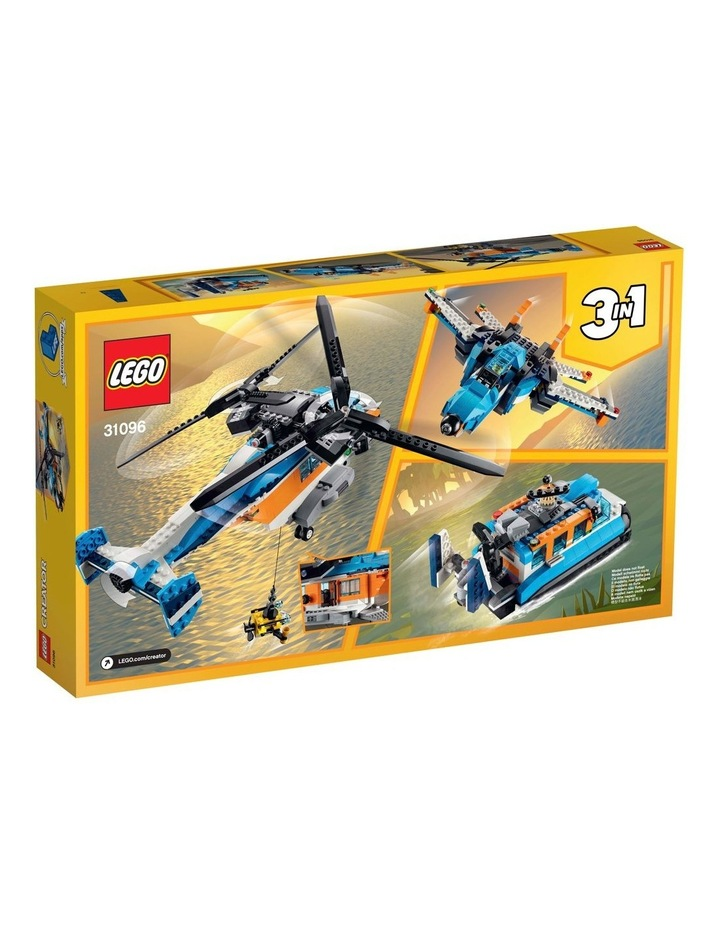 Creator 3in1 Twin Rotor Helicopter 31096 image 2