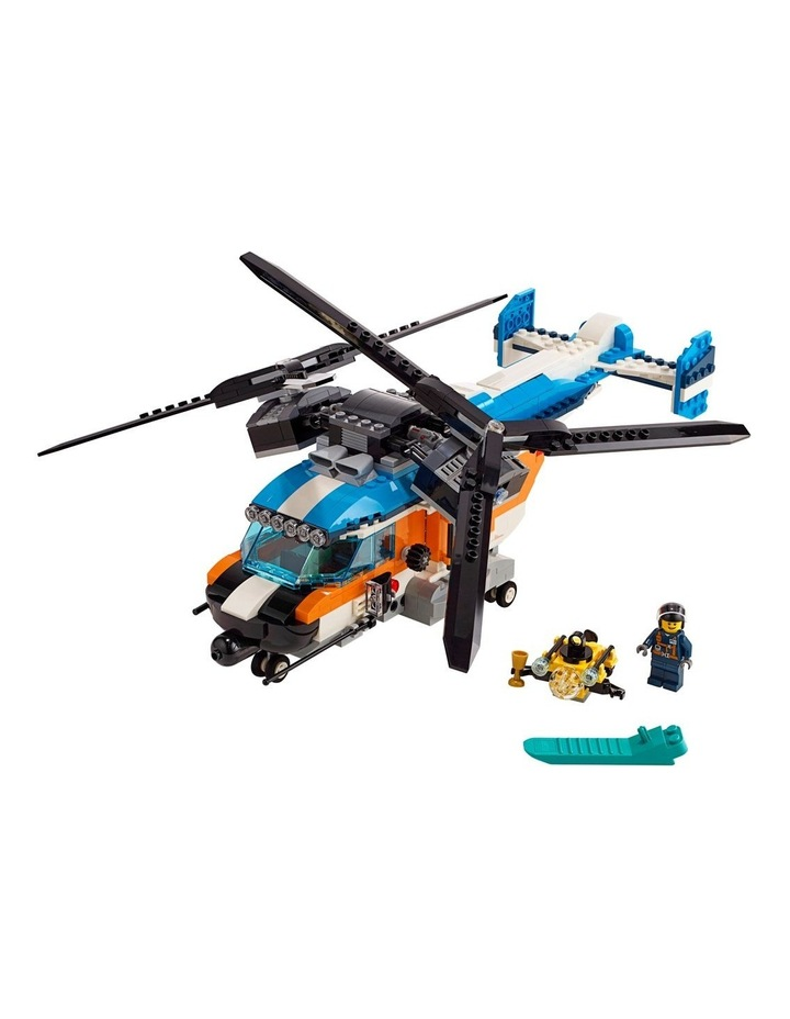 Creator 3in1 Twin Rotor Helicopter 31096 image 3