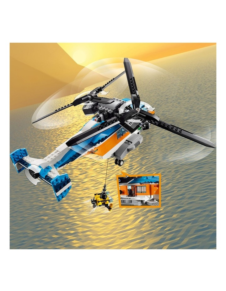Creator 3in1 Twin Rotor Helicopter 31096 image 5