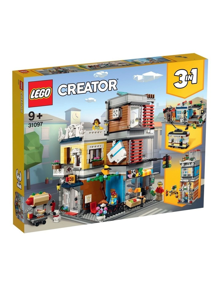 Creator 3in1 Townhouse Pet Shop and Caf 31097 image 1