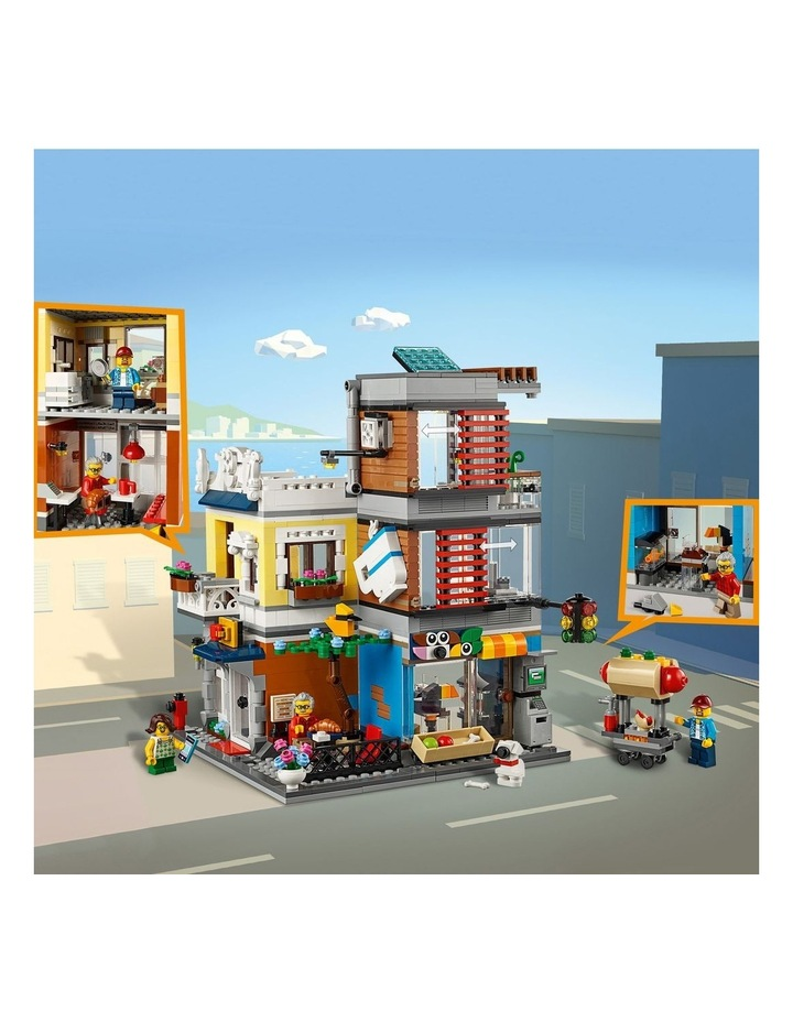 Creator 3in1 Townhouse Pet Shop and Caf 31097 image 5