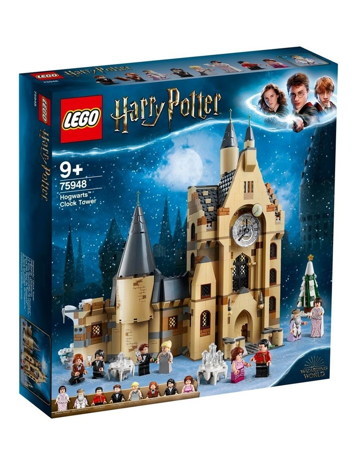 Harry Potter and the Goblet of Fire Hogwarts Clock Tower 75948 image 1