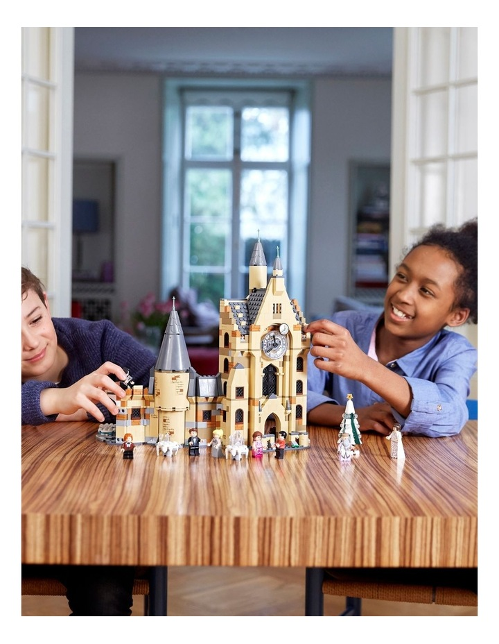 Harry Potter and the Goblet of Fire Hogwarts Clock Tower 75948 image 4