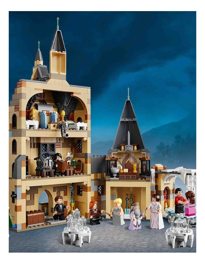 Harry Potter and the Goblet of Fire Hogwarts Clock Tower 75948 image 5