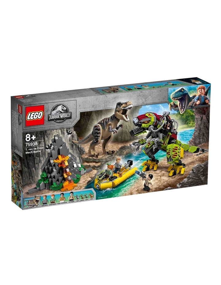Jurassic World T.Rex vs Dino-Mech Battle image 1