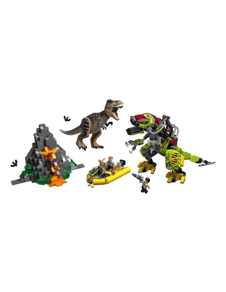 Jurassic World T.Rex vs Dino-Mech Battle image 3