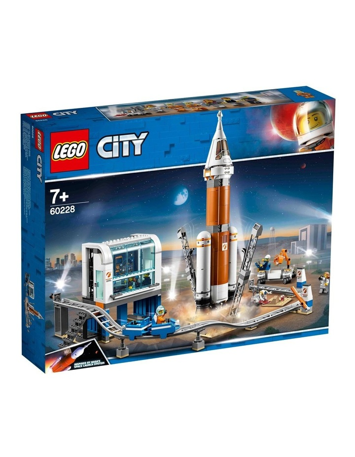 City Deep Space Rocket and Launch Control image 1