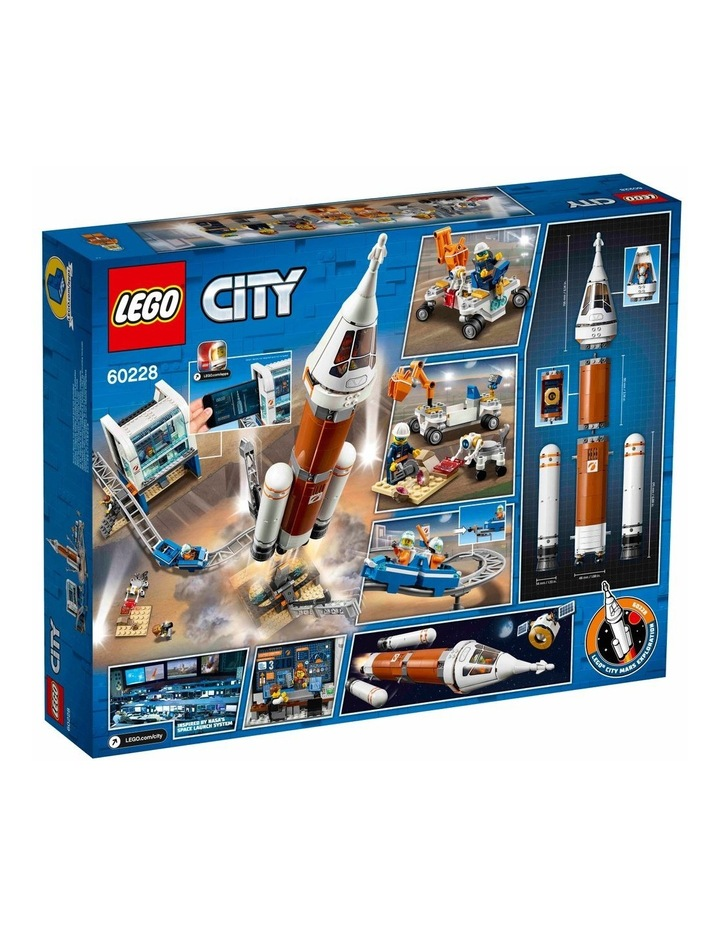 City Deep Space Rocket and Launch Control image 2