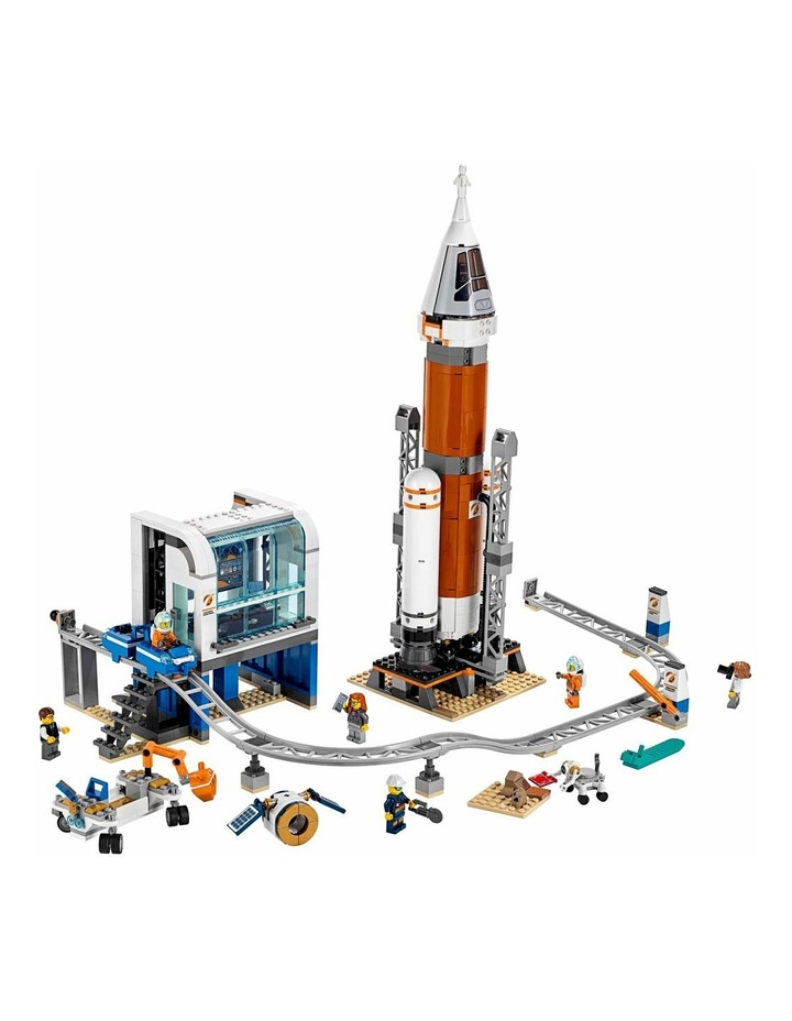 City Deep Space Rocket and Launch Control image 3