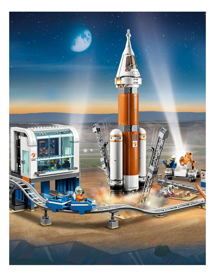 City Deep Space Rocket and Launch Control image 5