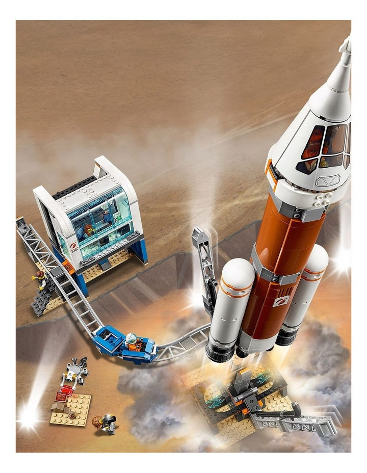 City Deep Space Rocket and Launch Control image 6