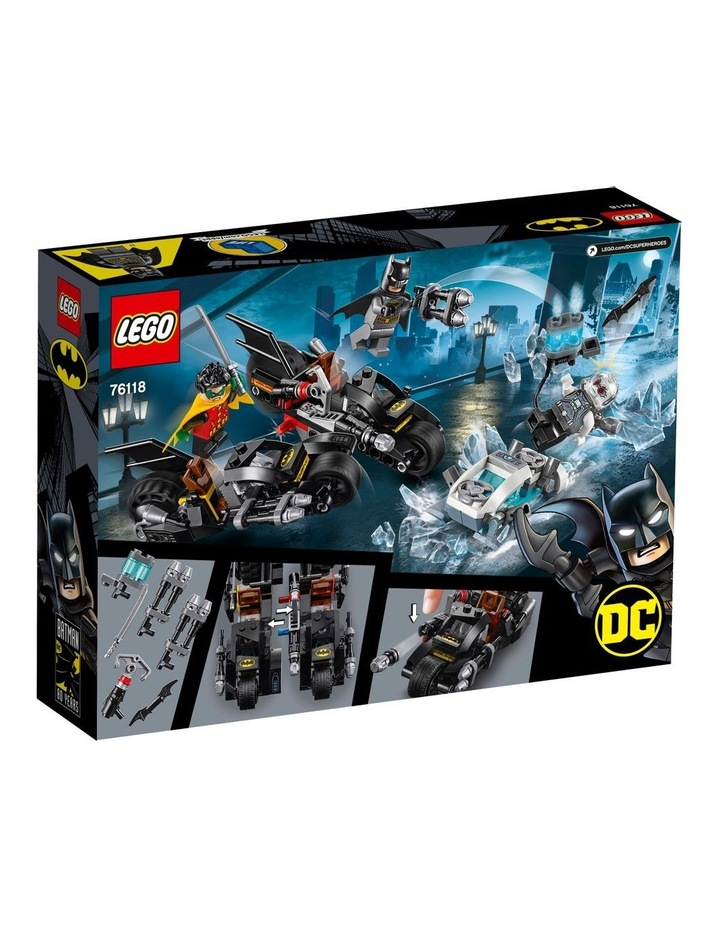 DC Batman Mr. Freeze Batcycle Battle 76118 image 2